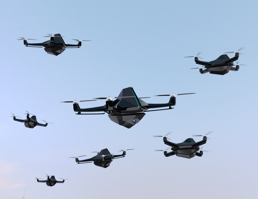 Raytheon Eyes Small Drone Swarms As Tactical Future