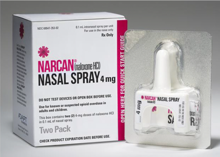 FDA approves 1st generic nasal spray to treat opioid overdose